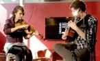 吉他和提琴的互动